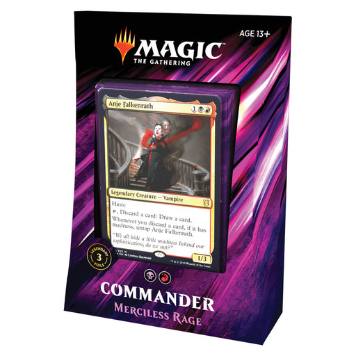 MTG Commander 2019 : Merciless Rage (BR)
