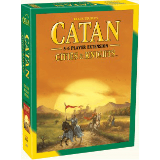 Catan (5th ed) Extension 5-6 Player : Cities and Knights
