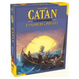 Catan (5th ed) Extension 5-6 Player : Explorers And Pirates