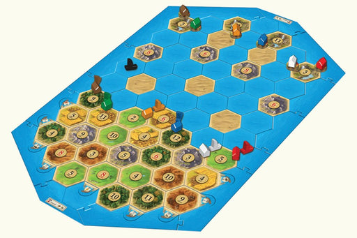 Catan (5th ed) Extension 5-6 Player : Seafarers