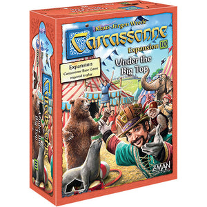 Carcassonne (2nd ed) Expansion : 10 Under the Big Top
