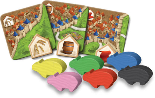 Carcassonne (2nd ed) Expansion : 2 Traders & Builders
