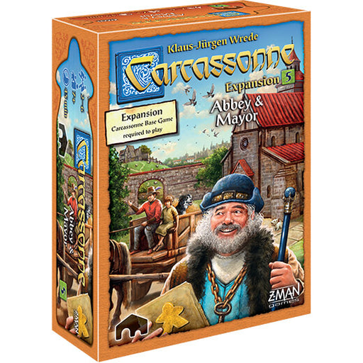 Carcassonne (2nd ed) Expansion : 5 Abbey & Mayor