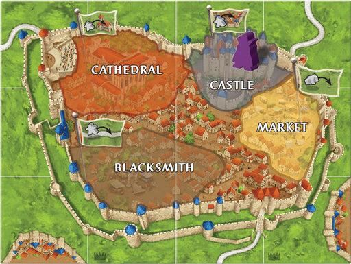 Carcassonne (2nd ed) Expansion : 6 Count King & Robber
