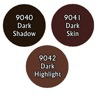 Paint Set (3ct) Reaper 09714 Dark Skin Tones