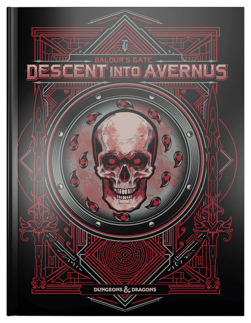D&D (5e) Baldur's Gate: Descent Into Avernus (Alt. Art Cover by Hydro)