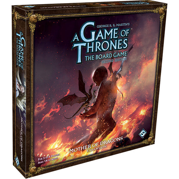 Game of Thrones Board Game (2nd ed) Expansion : Mother of Dragons