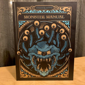 D&D (5e) Monster Manual (Alt. Art Cover by Hydro)