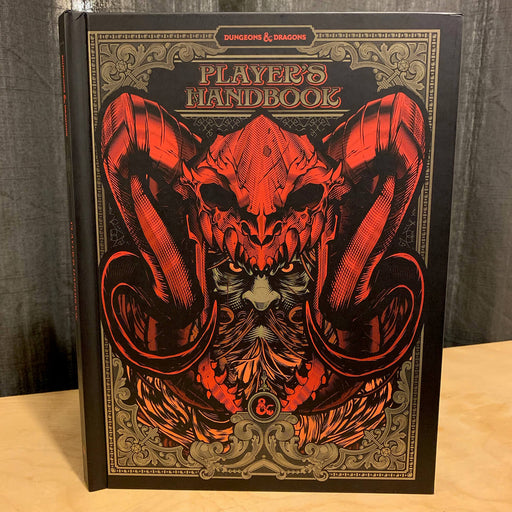 D&D (5e) Player's Handbook (Alt. Art Cover by Hydro)