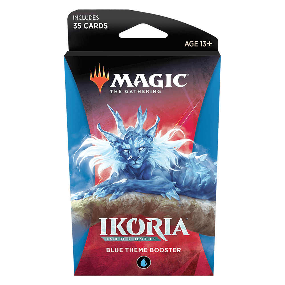 MTG Booster Pack Themed : Ikoria Lair of Behemoths (IKO) Blue