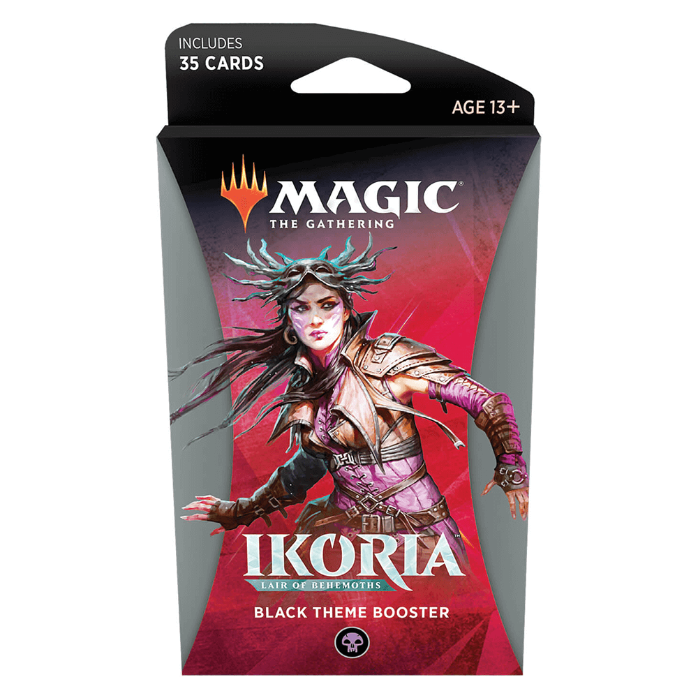 MTG Booster Pack Theme : Ikoria Lair of Behemoths (IKO) Black
