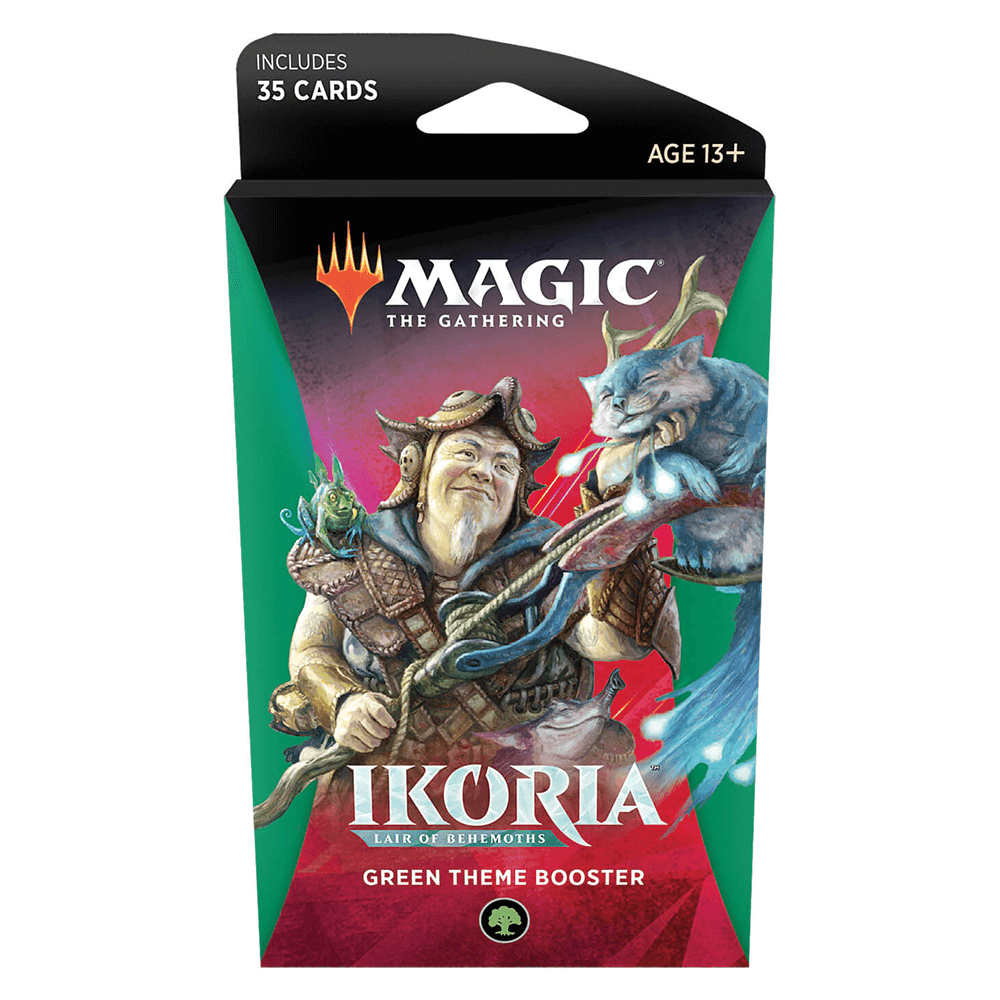 MTG Booster Pack Themed : Ikoria Lair of Behemoths (IKO) Green