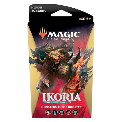 MTG Booster Pack Themed : Ikoria Lair of Behemoths (IKO) Monsters