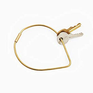 Contour Key Ring : Drop