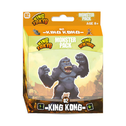 King of Tokyo / New York (2nd ed) Monster Pack : 02 King Kong