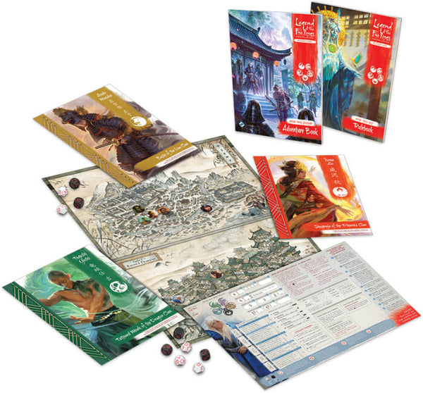 Legend of the Five Rings RPG Beginner Box