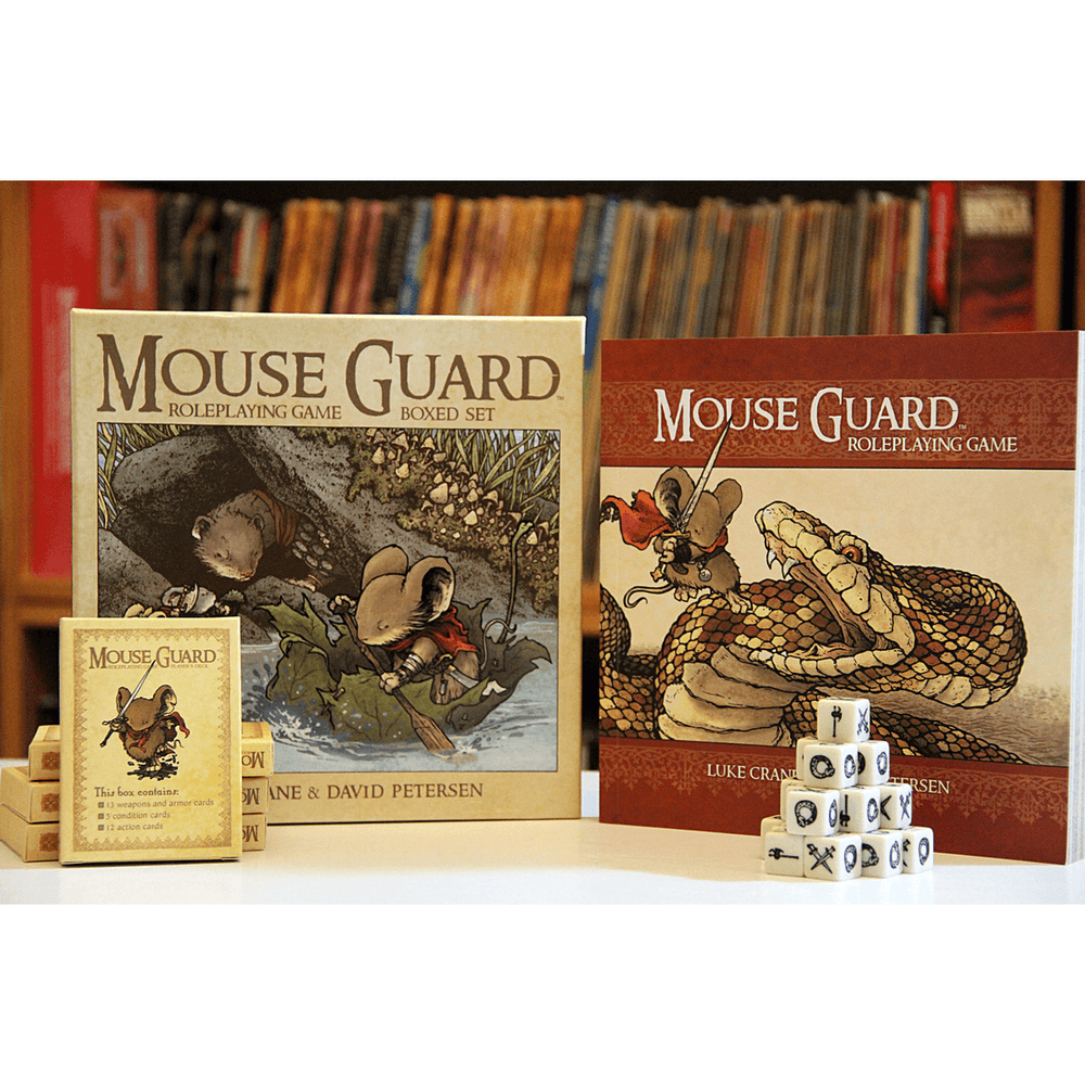 Mouse Guard (2nd ed) Boxed Set