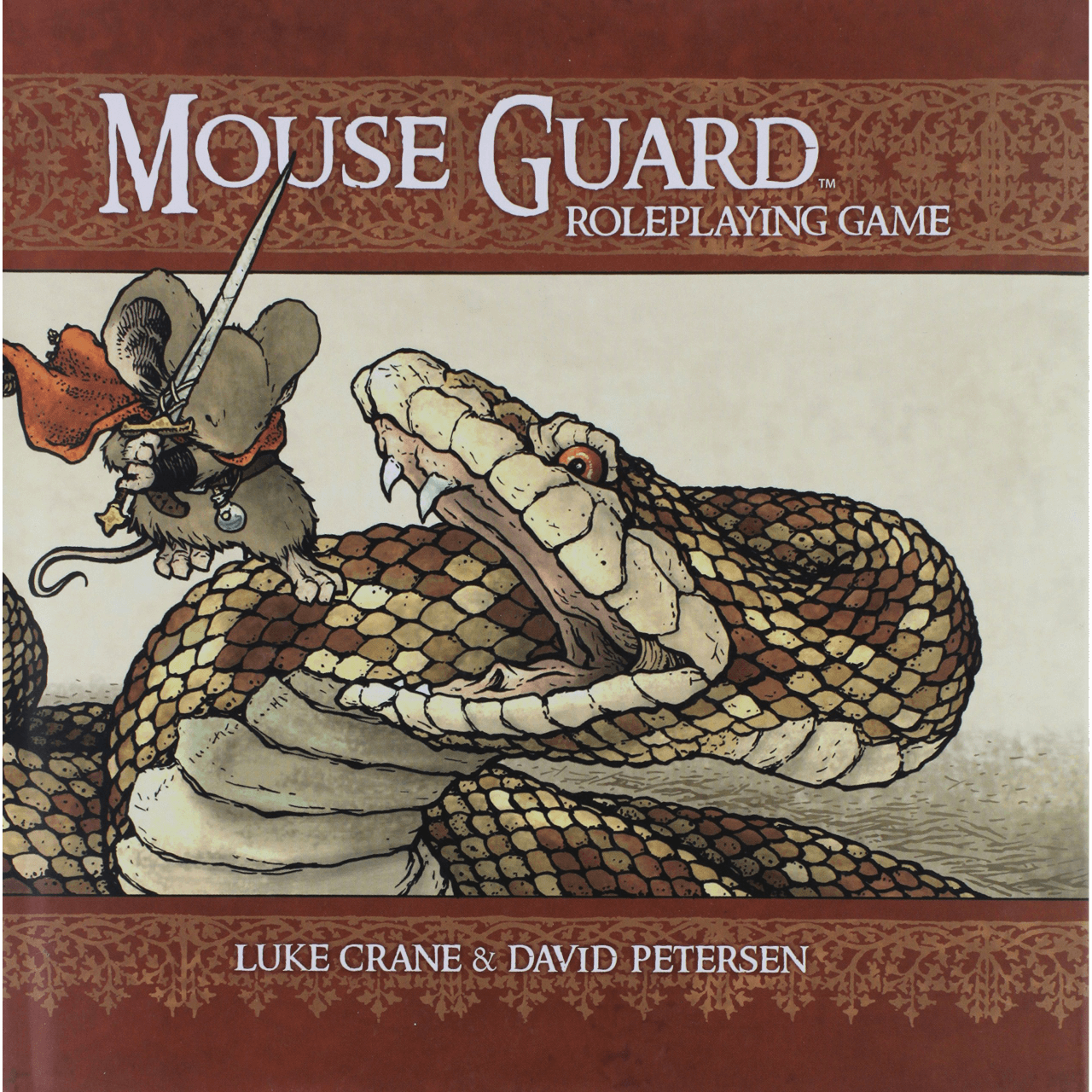 Mouse Guard (2nd ed) Core Rulebook