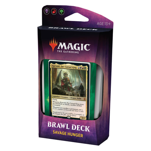 MTG Brawl Throne of Eldraine : Savage Hunger (BRG)
