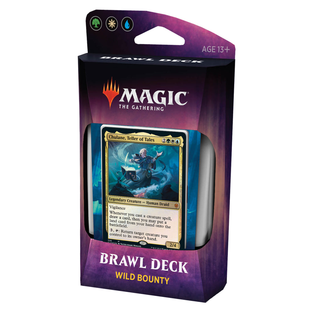 MTG Brawl Throne of Eldraine : Wild Bounty (GWU)