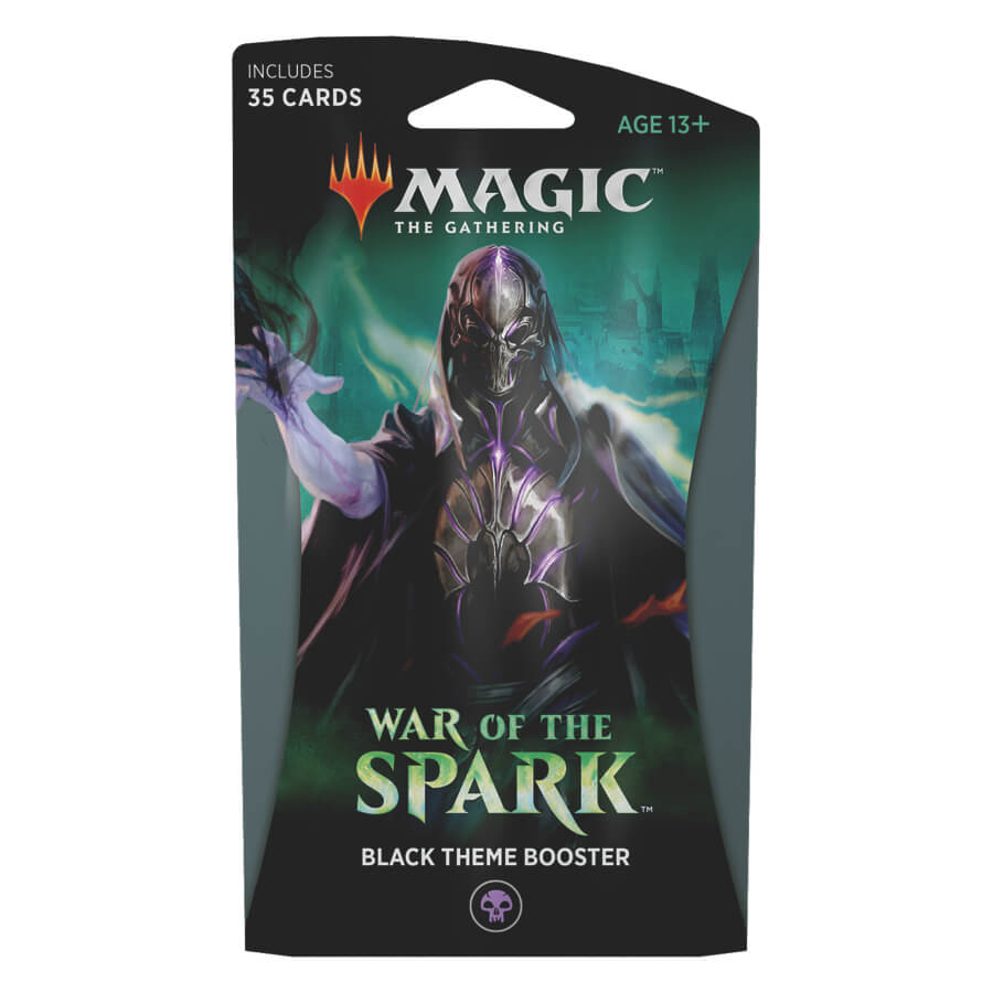 MTG Booster Pack Themed : War of the Spark (WAR) Black
