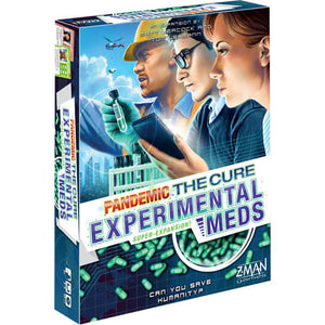 Pandemic The Cure Expansion : Experimental Meds