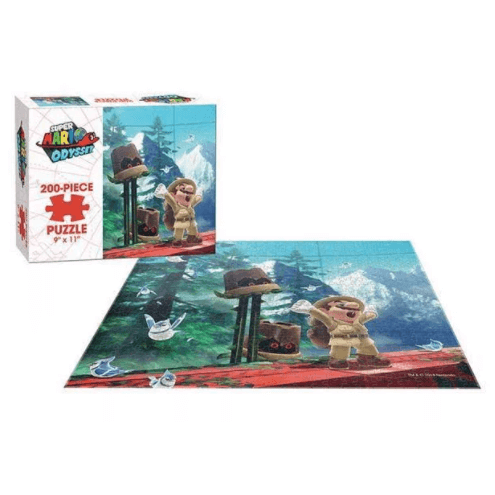 Puzzle (200pc) Super Mario Odyssey : Wooded Kingdom
