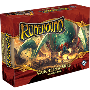 Runebound (3rd Ed) Scenario Pack : Caught in a Web
