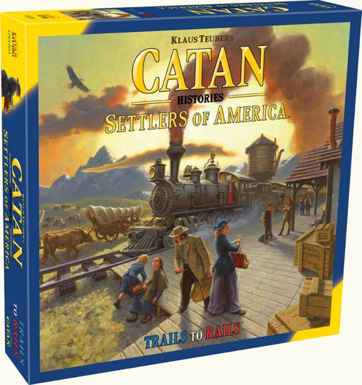 Catan Histories : Settlers of America Trails to Rails