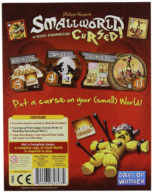 Small World Expansion : Cursed