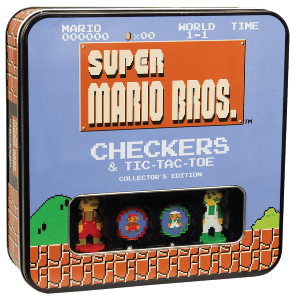 Super Mario Bros. Checkers & Tic Tac Toe