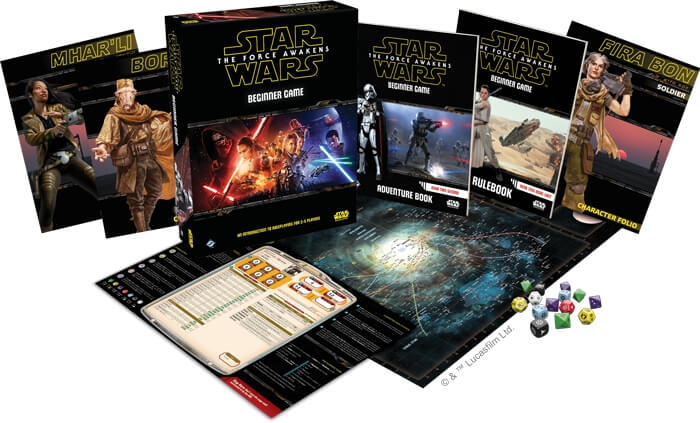 Star Wars Force Awakens Beginner Box