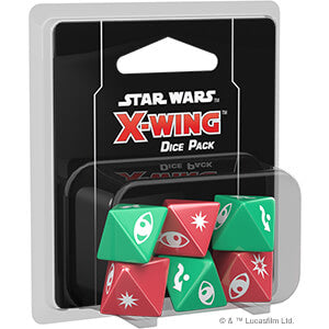 Star Wars X-Wing (2nd ed) Dice Pack
