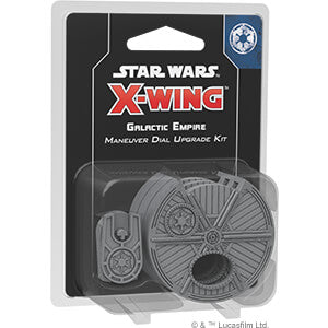Star Wars X-Wing (2nd ed) Galactic Empire Maneuver Dial Upgrade Kit