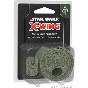 Star Wars X-Wing (2nd ed) Scum and Villainy Maneuver Dial Upgrade Kit