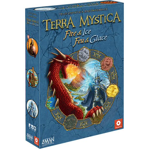 Terra Mystica Expansion : Fire and Ice