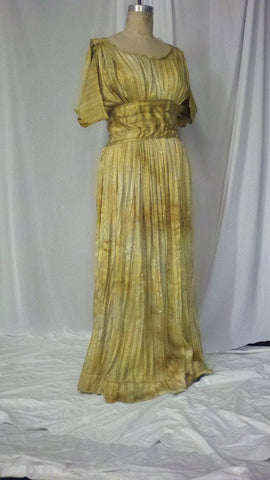 Golden Greek Dress