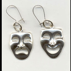 Comedy and Tragedy Earrings