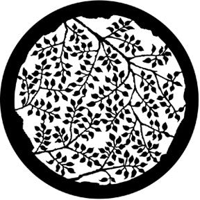 77863 Branching Leaves (Positive) - Steel Gobo Size B