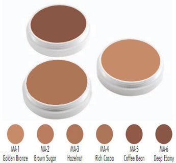 Ben Nye Creme Foundations - Maple Series