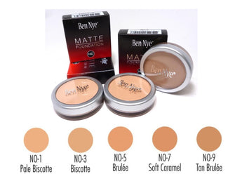 Matte HD Foundation - Natural Olive Series