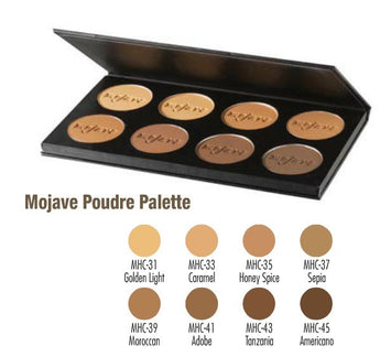 MediaPRO Poudre Palette - Mojave MHCP-8