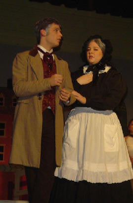 Victorian Couple for Oliver or many period shows