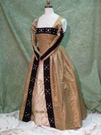 Renaissance Tudor Royal Gown