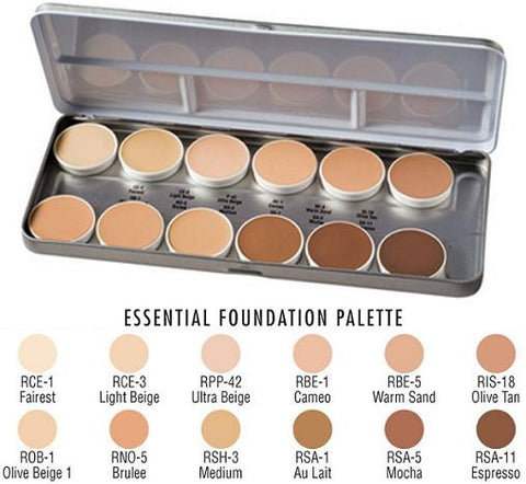 Matte HD Foundation Palette - Essential