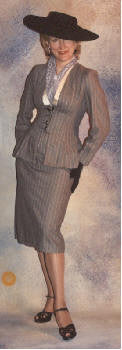 1940s Ladies Suit and hat