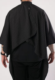 Back of Barber Cape | Black Barber Cape