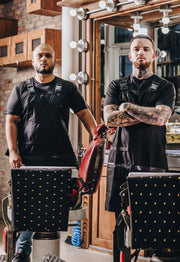 Durable Barber Apron | Barber Strong | High-Quality Barber Apparel
