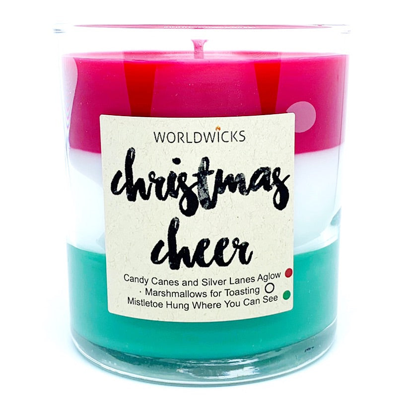 Christmas Cheer Triple Scented Christmas Candle