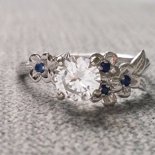 The Dogwood Engagement Ring